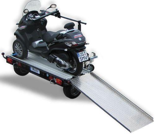 Remorque transversale franssen vente en ligne de remorques - Remorque porte moto pour camping car ...